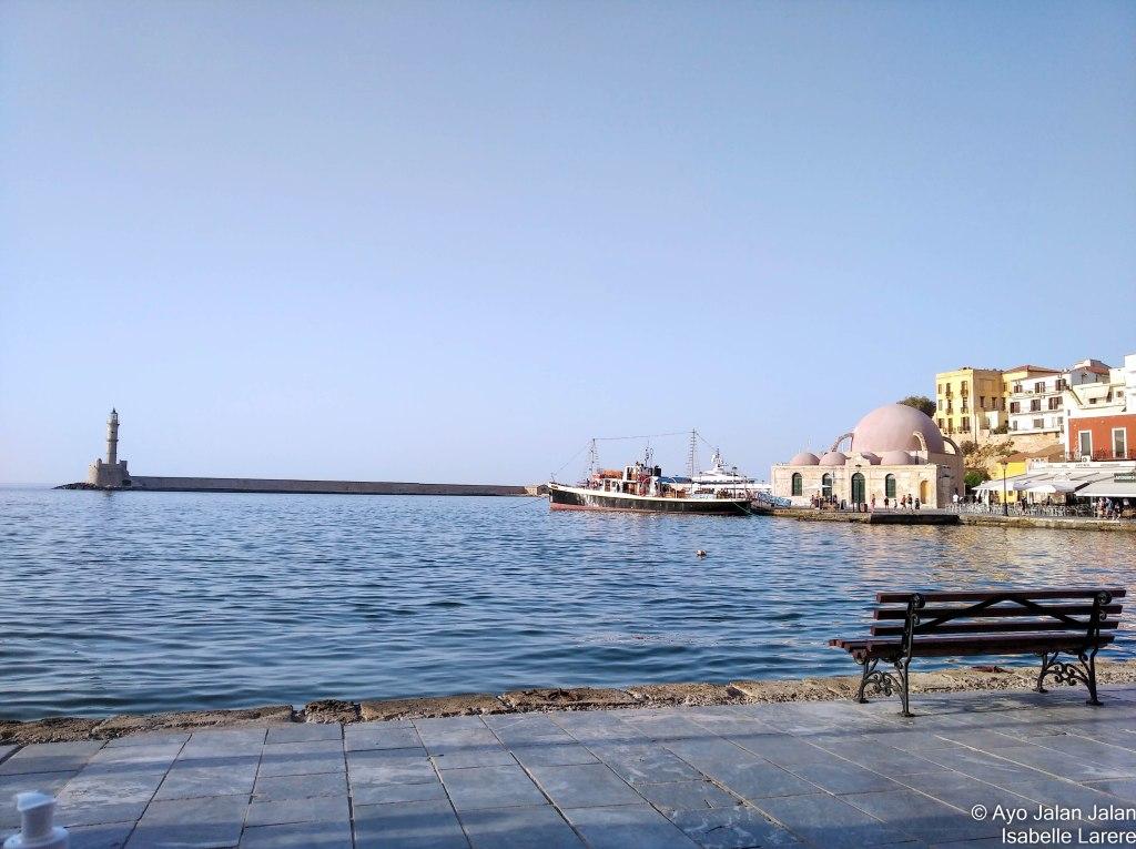 la canée port vénitien phare mosquée